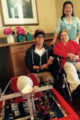 Ossining Students Visit Cedar Manor
