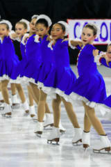 Stamford Skaters Earn Medals With Skyliners Synchronized Skating Teams