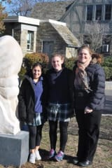 Holy Child In Rye Unveils New Limestone Sculpture