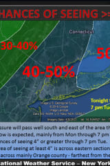 Eastchester Could See Several Rounds Of Snow This Week