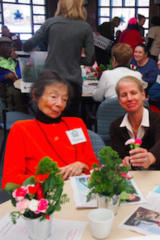 Greenwich Garden Club Members Volunteer At Adult Daycare Center