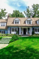 Elegant Colonial Awaits New Owner In Rye's Prestigious Pine Island