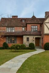 Classically Renovated Tudor In Bronxville Stays True To Its Heritage