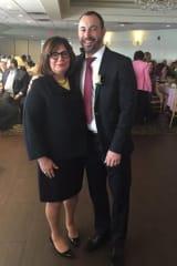 Stepinac Honors Alumni Mother Toni Amato, Vice Principal Frank Portanova