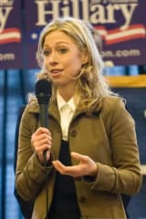 Chelsea Clinton Campaigns For Hillary In Poughkeepsie