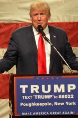 Bedford's Trump Rips Chappaqua's Clinton's Record At SoHo Speech