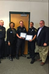 Norwalk Police Department Honors Officers For Lifesaving Water Rescue