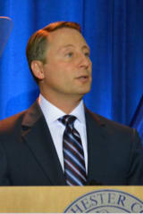 Astorino Cites Fiscal Discipline, Recognizes Fallen Hero In State Of County