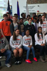Stamford Mayor Martin Honors High School Championship Teams