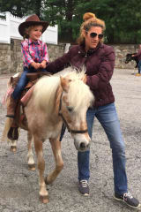 Greenwich's Round Hill Nursery School Saddles Up For Western Day