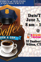 Wilton Police Department To Host Coffee With A Cop