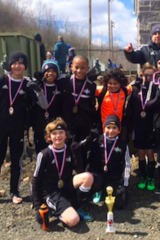 Stamford Youth Soccer League Boys' U11 Premier Team Wins Spring Tournament