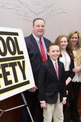 Hwang, Sandy Hook Parent Celebrate Passage Of Safer Schools Bill