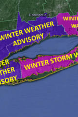 Weather Advisory Issued For Eastchester As Projected Snow Totals Increase
