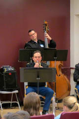 West Point Musicians Inspire Briarcliff Student Musicians