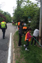 Community Cleans Up Fort Hill Road