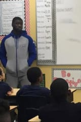 Concordia Basketball Group Visits With Yonkers Students For Career Day