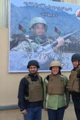 U.S. Rep. Esty Visits With Area Marines In Afghanistan, Kuwait