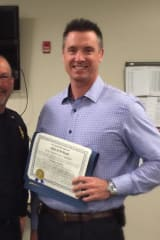 Greenwich Deputy Police Chief Honors Detective As Officer Of The Month