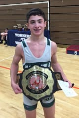 Pleasantville Wrestler Wins Gold