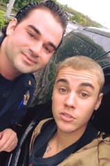 Justin Bieber 'Pulls Over' Officer After Arriving In Area For Concert Tour