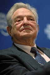 Bedford's George Soros Among Most Generous People Ever