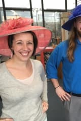 Pequot Library In Southport Sells Hats For Derby Day Fundraiser
