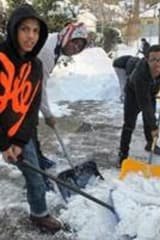 St. Christopher's Students Dig Out Hastings-on-Hudson Neighbors