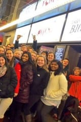 Briarcliff Theater, Music Students Meet Cast Of 'Something Rotten!'