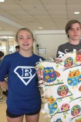 Darien Students Create Preemie Blankets For Norwalk Hospitals