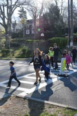 Bronxville Students Walk To School To Celebrate Earth Day