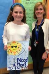 Albert Leonard Middle School Student Wins Earth Day Contest
