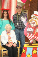Adult Day Program Guests At Waveny LifeCare In New Canaan Enjoy Big Top