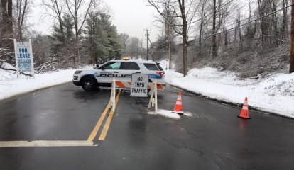 Brookfield Reopens Vale Road After Utility Pole Is Repaired