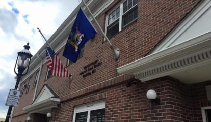 Ossining Police Lower Flags For Peace Officer Memorial Day