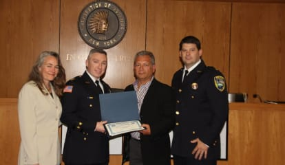 Ossining Police Honor Heroic Resident As Part Of Police Awards Ceremony