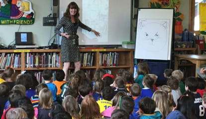 Children's Author Speaks To Elementary Students In Pelham