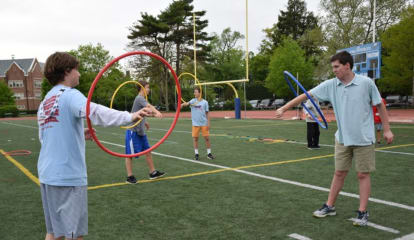 Bronxville Students Participate In NFL's 'Fuel Up To Play 60' Program