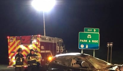 Nichols Fire Department Assists At Crash On Route 25 In Trumbull