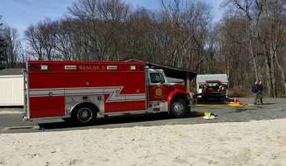 New Canaan Brush Fire Doused Before It Could Spread