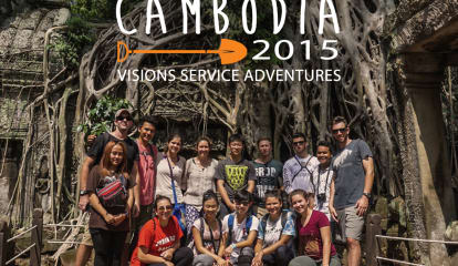 Byram Hills High School Student Volunteers In Cambodia