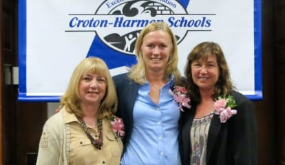 Three Croton-Harmon Staffers Honored For 25 Years Of Service