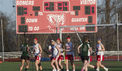 Somers Girls Lacrosse Teams Scores 21 Goals In Victory