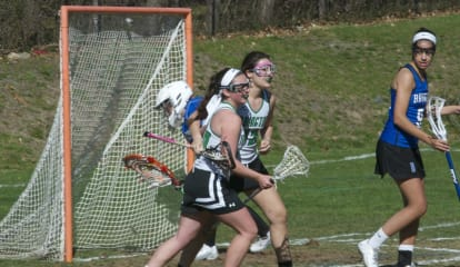 Irvington Girls Lacrosse Take Takes On Powerful Bronxville