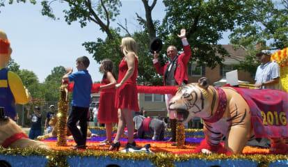 Bridgeport Celebrates As Barnum Festival Steps Off For Great Street Parade