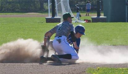 Dobbs Ferry, Pleasantville Mix It Up On Baseball Diamond
