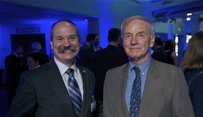 Maritime Aquarium Honors Darien Lawmaker For Commitment To Education