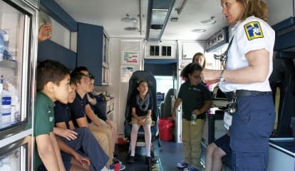 Norwalk Students Learn Lessons In Safety From Paramedics, EMTs