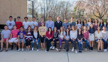 Harrison High School Recognizes Top-Ranked Graduates
