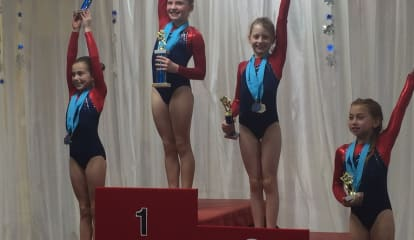 Gymnasts Win Blizzard Of Titles At Snowflake Invitational In Wilton